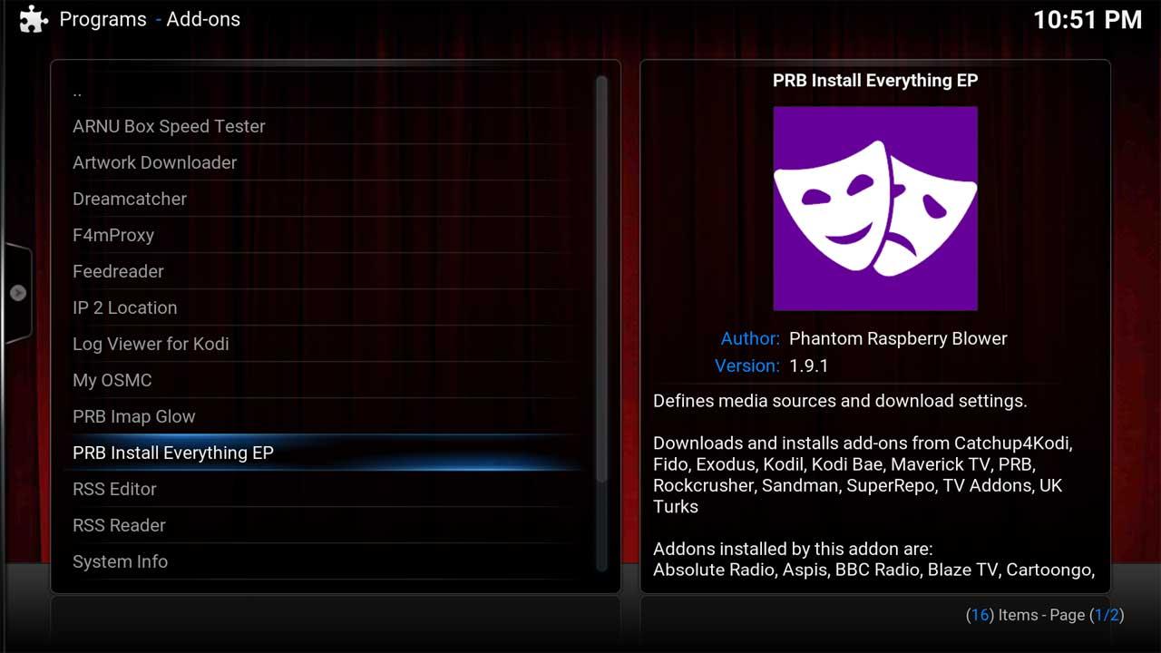 PRB Install All
